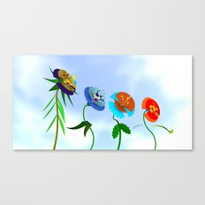 WHAT THE BEES SEE Canvas Print