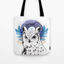 The Owl (Spirit Animal) Tote Bag