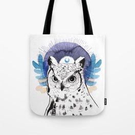 The Owl (Spirit Animal) Tote Bag