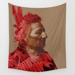 Walla Walla American Indian & Red Sumac Wall Tapestry