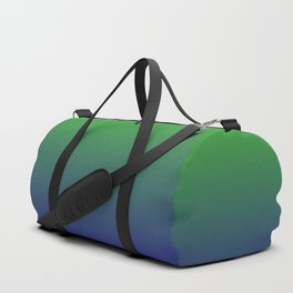 Ombre | Green and Blue Duffle Bag