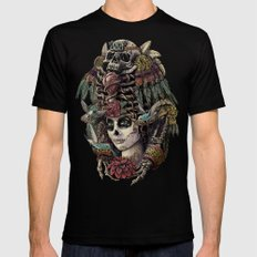 Day of the Dead (Ancient Guardians) X-LARGE Mens Fitted Tee Black