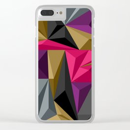 Polygon Clear iPhone Case