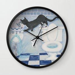 The Flood Wall Clock