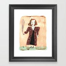 Betty Davis Framed Art Print