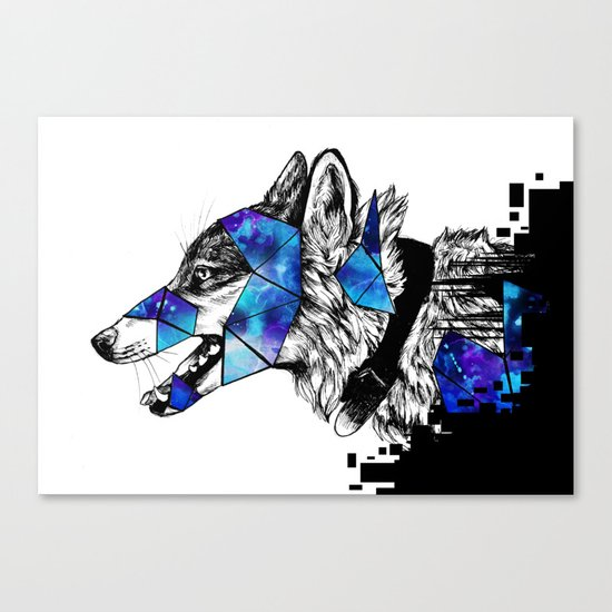 Fractions Canvas Print