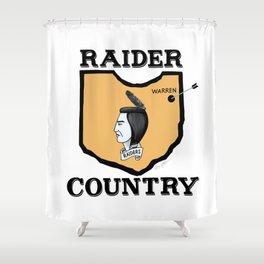 Raider Country Shower Curtain