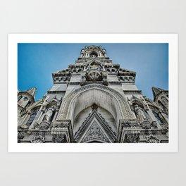 Nimes Chapel Art Print