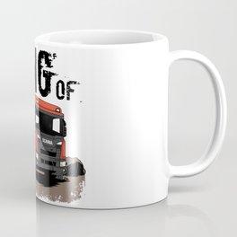 Dump Truck Dirty Road Coffee Mug
