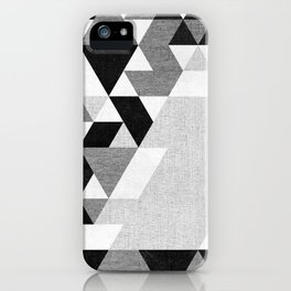 The Triangles iPhone Case