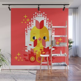 Year of the Rooster Wall Mural