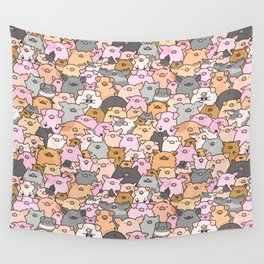 Pigs, Piglets & A Swine! Wall Tapestry