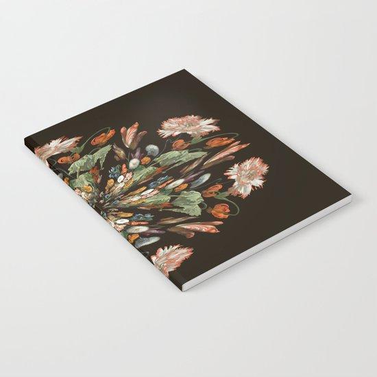 Flemish Floral Mandala 3 Notebook