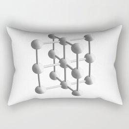 Tubes Rectangular Pillow