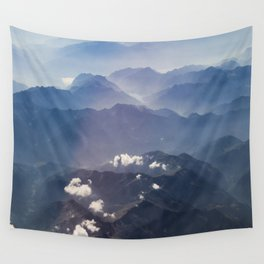 Alps view Wall Tapestry