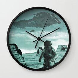Colonization Wall Clock