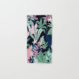Into the jungle - midnight Hand & Bath Towel