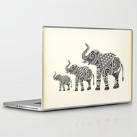 ornate elephant Laptop & iPad Skins featuring Elephant by famenxt