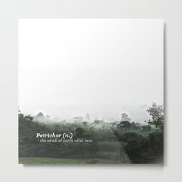 Petrichor (Smell of earth after rain) Metal Print