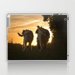 Canine Sunset Silhouettes Laptop & iPad Skin