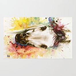 """""""Into the mirror"""" n°2 The horse Rug"""