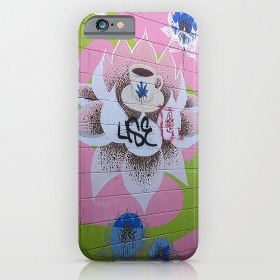 Graffiti Coffee Wall iPhone & iPod Case
