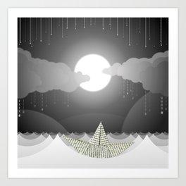 Dream Sea Art Print
