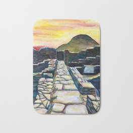 Delos Island, Greece Bath Mat