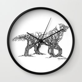 Golden Re-Tree-Ver Wall Clock