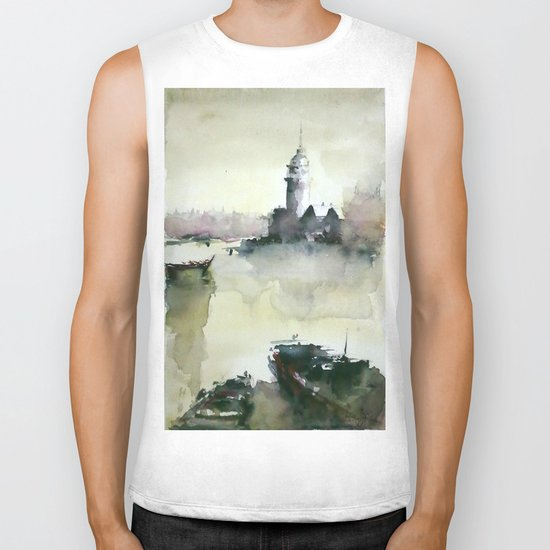 MAIDEN'S TOWER Biker Tank