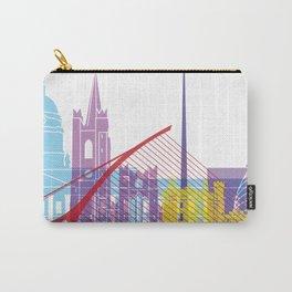 Dublin skyline pop Carry-All Pouch