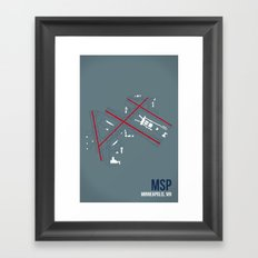 MSP Framed Art Print