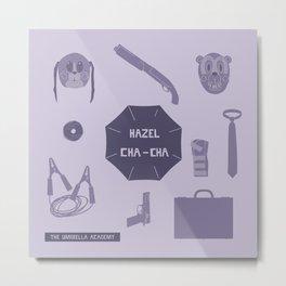 hazel & cha cha Metal Print