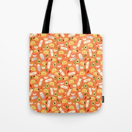 Tacos and Burritos Tote Bag