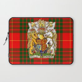 CAMERON TARTAN & SCOTTISH CREST ART Laptop Sleeve