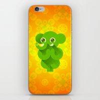 ganesha iPhone & iPod Skins featuring Ganesha by Plushedelica