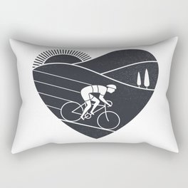 Love Cycling Rectangular Pillow