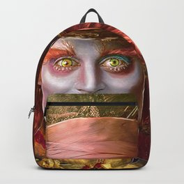 Mad Hatter General Portrait Painting Fan Art Backpack