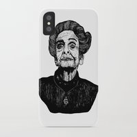 levi iPhone & iPod Cases featuring Rita Levi by Julian R Black