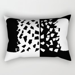 Woman and Man Sharing their mind Rectangular Pillow