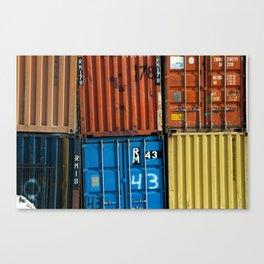 Pointe St. Charles Shipping Closeup Canvas Print