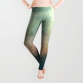 ABSTRACTION no6-B Leggings