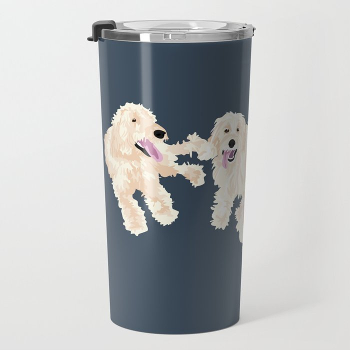 Kylie, tate, connor, and callie Travel Mug