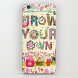 Grow Your Own iPhone Skin