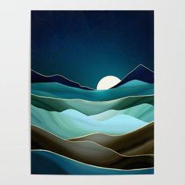 Moonlit Vista Poster