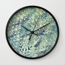 sea of flakes Wall Clock
