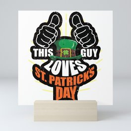 st patricks day Mini Art Print