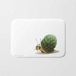 Snail DJ Bath Mat