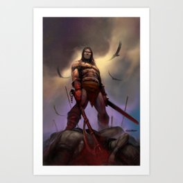 Conan the Barbarian Art Print
