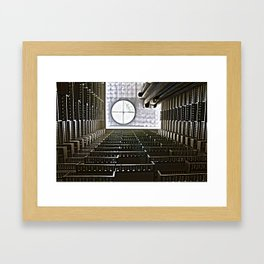 The Hyatt in downtown Atlanta, GA Framed Art Print